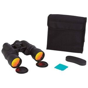 10x50 High Powered Binoculars w/ Ruby Red Coated Lenses for Glare Reduction