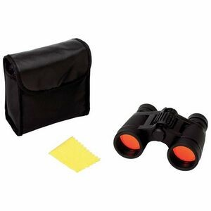 Compact 4x30 Binoculars w/Ruby Red Coated Lenses for Glare Reduction
